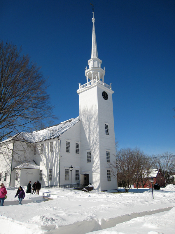 First Church of Christ, Congregational, 1652 in Farmington, CT